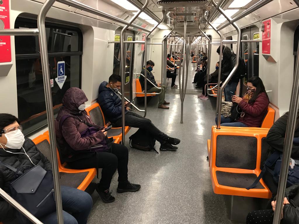 Covid 19 El Buen Viajero Metro De Santiago