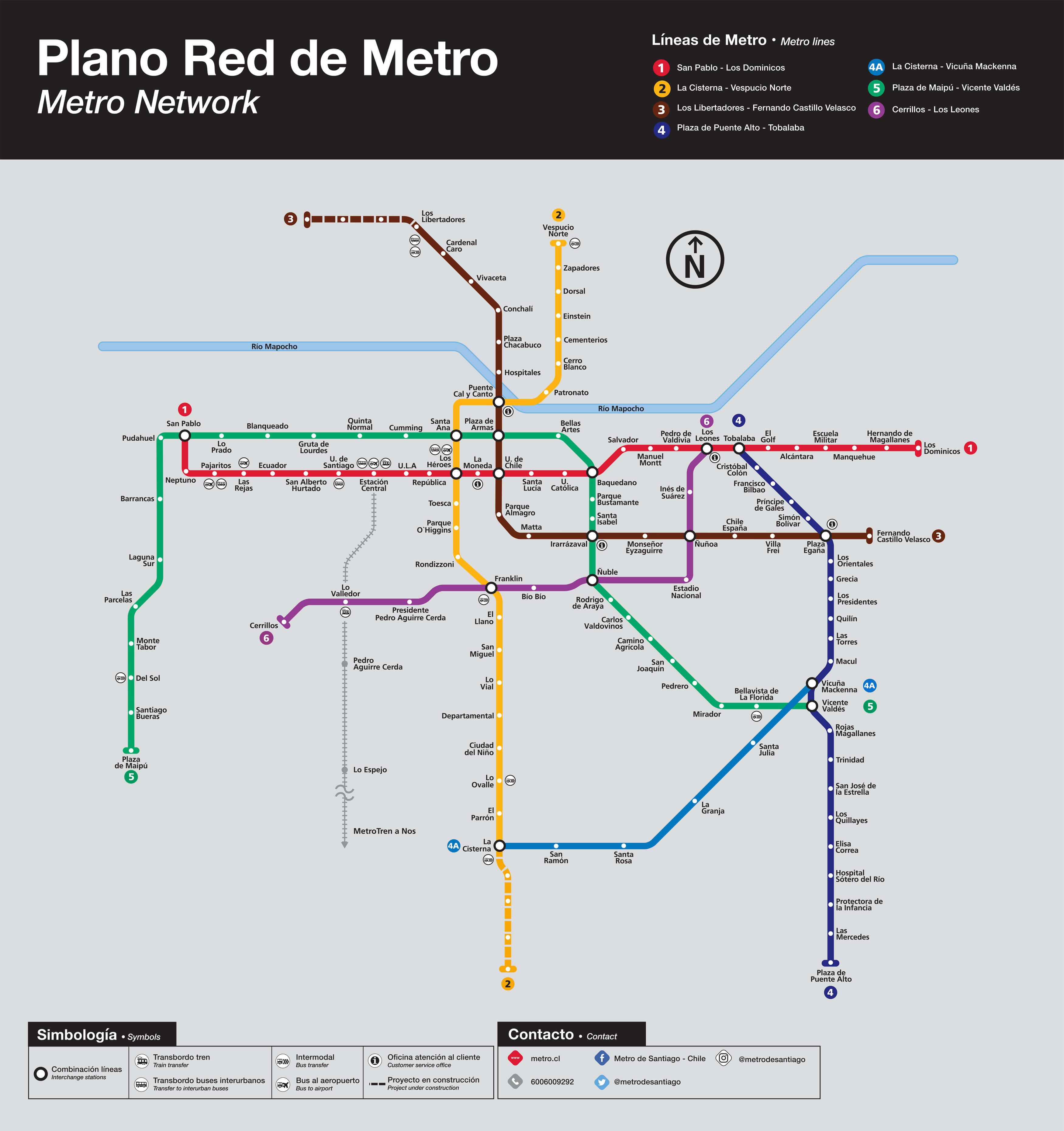 Plano De Red Linea 3 Y 6