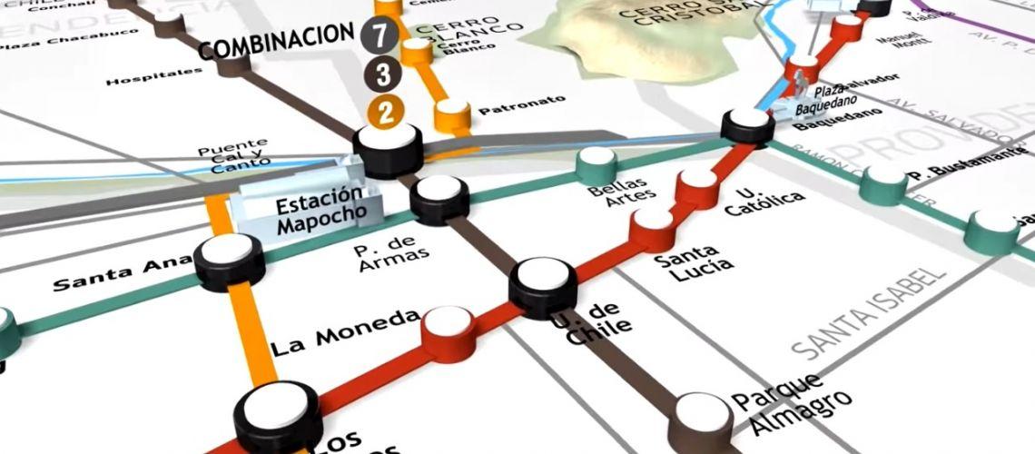 Luz Verde Para Linea 7 Aprueban Estudio De Impacto Ambiental Metro De Santiago